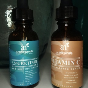 REVIEW: Retinol- und Vitamin C-Serum von Art Naturals