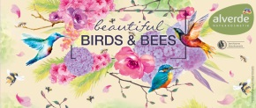 "PREVIEW: ""Beautiful Birds and Bees"" – die neue Limited Edition von alverde! (Pressetext)"